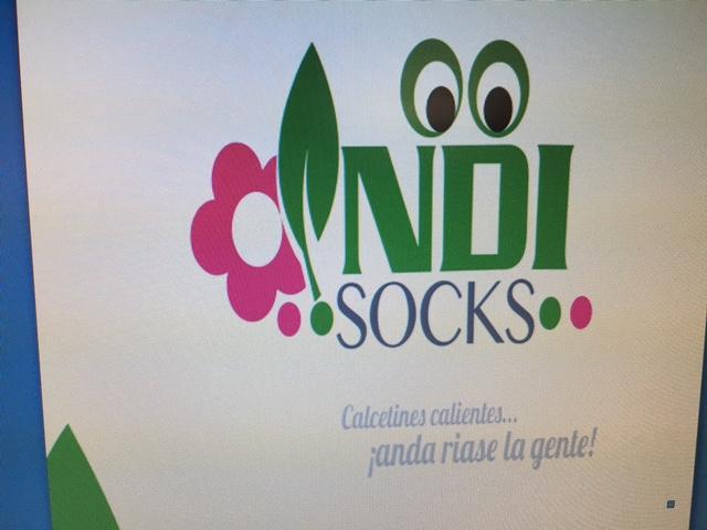 calcetines con semillas